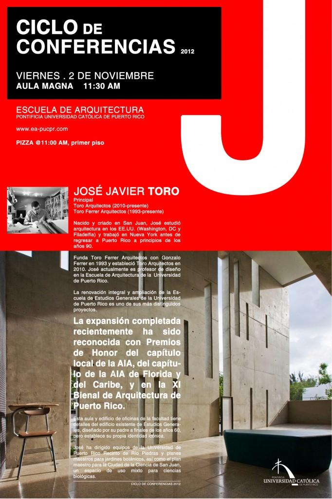 Ciclo de Conferencias_Jose Toro