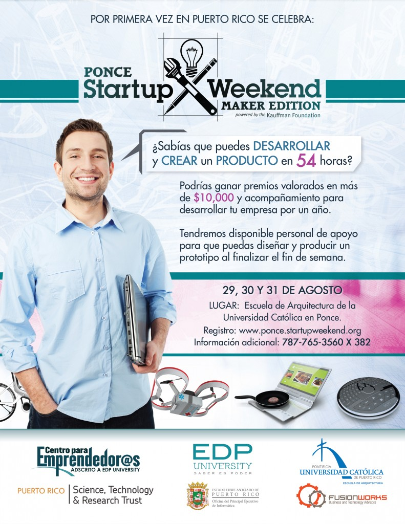 Ponce Startup Weekend Maker Edition 8